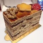コンフィセリー・ラパート - くるみとキャラメルのケーキ(432円)