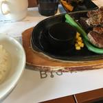 61494153 - 日替わりお肉のカットステーキランチ