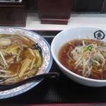 中華食堂一番館 - 「中華丼セット(¥550)」