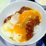 調布クレストンホテル - 朝食ビュッフェ1,480円キーマカレー温玉ご飯