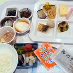 調布クレストンホテル - 朝食ビュッフェ1,480円、鮭ふりかけに焼き海苔