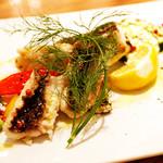 ブルズガーデン - 本日のお魚の炭火焼き