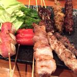 もつ宗 - 博多串焼き 10本盛り
