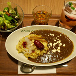 癒楽甘 春々堂 - 料理写真:「よくばりセット」(1600円税抜)