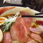 中華そば おしたに - 料理写真:チャーシューアップ