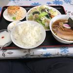 四川料理新中華 - 料理写真:イカの炒め定食