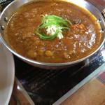 バンチャガル - 野菜カレーのアップ