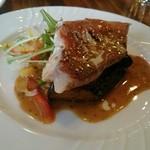 洋風料理店TANAKA - メインのあこう鯛