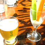 615128 - ホワイトエールと酒蔵野菜のサラダ