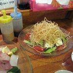 615163 - 島豆腐のサラダ