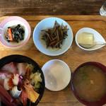 元気モリモリ - 海鮮丼900円