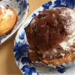 ル・デパール - 料理写真:豆乳シュークリーム2種類