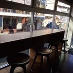 NOZY COFFEE - 一階カウンター席