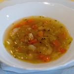 オステリア・ルッカ - 野菜スープ 自分で作れそうだけどやっぱり出せないこの味!