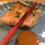 きん田 - (2014年6月)甘鯛の木の芽焼き