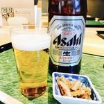 61503643 - 冷えたビールぷはぁ~