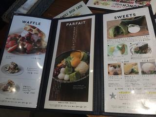 kawara CAFE&DINING -FORWARD- - スイーツも充実。