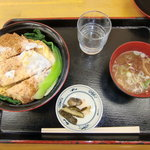 くろさき茶屋 - カツ丼