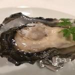 ルミエール デュ ソレイユ - 少前菜:牡蠣