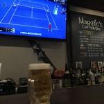 マギーズ - 生ビールと錦織圭