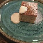 フォレストアンドコーヒー - 料理写真:ホワイトチョコケーキ