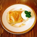 cafe.miel - カフェミエルのアップルパイ500円
