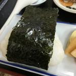 三忠食堂 - おにぎり(鮭)