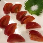 広島お好み焼き・鉄板焼き 倉はし - フルーツトマト