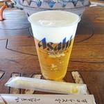 ぶどうの丘 バーベキューガーデン - 生ビール