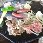 ぶどうの丘 バーベキューガーデン - 焼き(2)