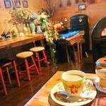 ティペット喫茶レストラン - カフェ・ラテ 480円 2017/01