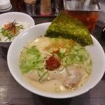 香味徳  - ランチA(白+ミニ明太子丼)700円