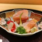 日本料理 太月 - 銚子かじき、下関のふぐ、勝浦の金目