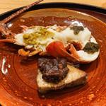 日本料理 太月 - 伊勢海老にキャビア、ぶり照り焼きにクルミ焼き