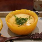 日本料理 太月 - たらの白子ゆずがま茶わん蒸し