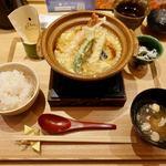 gihey - 京のあんかけ天とじ丼 1370円(税別)