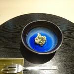 割烹 武田 - 菊菜白和え