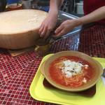 61522121 - 目の前でチーズを削って入れてくれます(^_^)