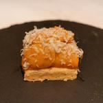 61522853 - タルトの雲丹乗せ ビリヤニ チーズ