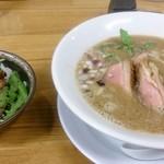 麺麓menroku - 鴨白湯そばと鴨丼
