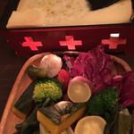 nikainowainsakaba - ラクレットチーズ焼き