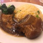61524096 - 豚バラ肉の角煮チャーハン
