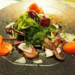 ビストロ モラトゥール - 料理写真:和牛 内モモのサラダ仕立て