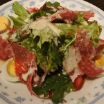 ビーフステーキ ニューカルネ - 本日のサラダ