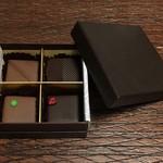 ティーラウンジ ザ・ラウンジ - オリジナルチョコBOX 4個入 1500円