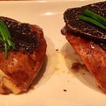 61526417 - ポットベラマッシュルーム フレッシュトリュフ添 レモンバターソース(Roasted Portabella Mushroom w Truffle & Lemon Butter Sauce)