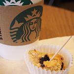 スターバックス・コーヒー - ドリップコーヒーとスコーン(試食用)