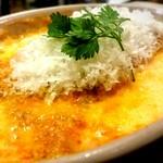 ラザーニャ・ラザーニャ - シェフのスペシャリテ トマトのラザーニャ カラスミがけ