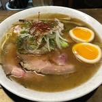 麺屋 裕 - 蟹塩そば+味付け玉子