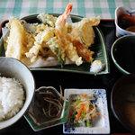 旅籠 ふじ - 天ぷら定食